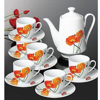 Harga 14 Piece Morning GloryTea Set