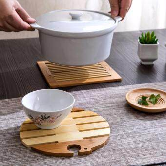 Harga 2 Pcs Kitchen Accessories Table Placemats Tableware Mat Wood Coaster Table Mat