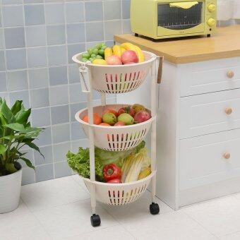 Harga Multi Layer Multifunction Hollow Movable Storage Basket