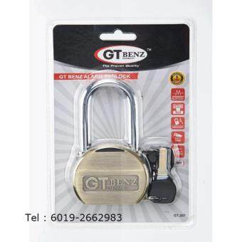 Harga GT Benz Alarm Padlock (Single GT-207) New