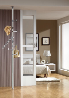 Harga DoYoung Made-In-Korea 170cm-280cm Adjustable Single Pole Hanger System