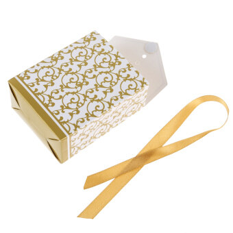 Harga 50pcs Lovely Candy Boxes With Ribbon Wedding Party Favor Gift Boxes Gold