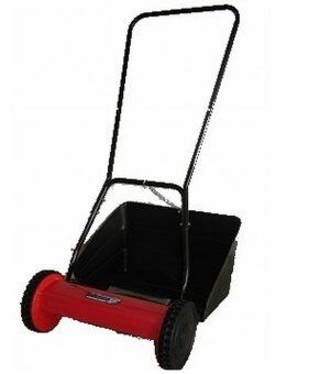 Harga Falcon Handpush Mower c/w Plastic Catcher 16 Inches