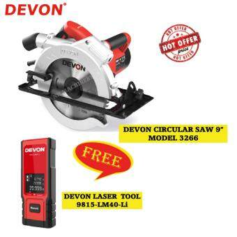 "Harga Devon 3266-1 235mm Circular Saw (9"") FREE Laser"