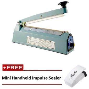 Harga Impulse Sealer 20cm Plastic Poly Bag Sealer FREE Mini Impulse Sealer