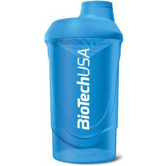 Harga BiotechUSA Wave Shaker 600 ml shaker bottle (Blue)