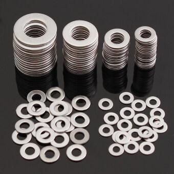 Harga 105Pcs Stainless Steel Washer Spring Metric Washer Assortment Set M3 M4 M5 M6 M8 M10