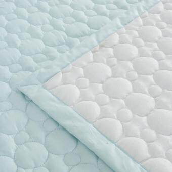 Harga DoYoung Uyu Blue Made-In-Korea Mattress Pad (Queen)