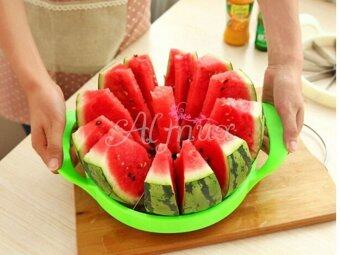 Harga HOT Fruit Divider Watermelon Cutter Cantaloupe Slicer Melon Stainless Steel