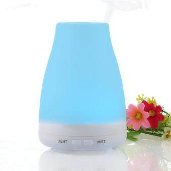 Harga Gogerstar 7 Changing Color Ultrasonic Humidifier Aroma Diffuser, 100ml Aromatherapy Essential oil Diffuser Cool Mist Humidifier for Valentine's Day, for Home, Yoga, Office, Spa, Bedroom, Baby Room