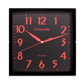 Harga Wall Clock 100% Brand NEW & Authentic Crocodile standard wall clock CW1841