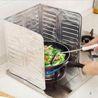 Harga Kitchen Oil Aluminium Foil Plate Gas Stove Oil Splatter Screens
