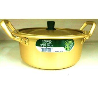 Harga Korea Noodle Pot / Hot Shin Ramyun Ramen Aluminum Pot / Korean Traditional HOT POT (18 cm)