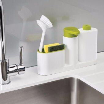 Harga NaVa Kitchen Bathroom Soap Dispenser Organizing Plastic Holder
