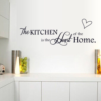Harga LOVE Quote Wall Sticker PVC Vinyl Art Words Decals Removable Home Kitchen Decor