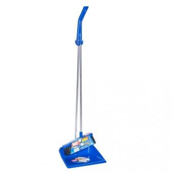 Harga Neco Cleaning Long Handle Dust Pan And Broom 30-1041-14 (Blue)