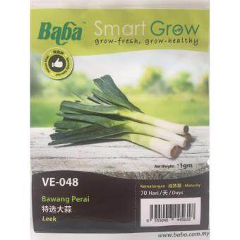 Harga Baba Smart Grow Seeds VE-048 LEEK (BAWANG PERAI) ±1gram