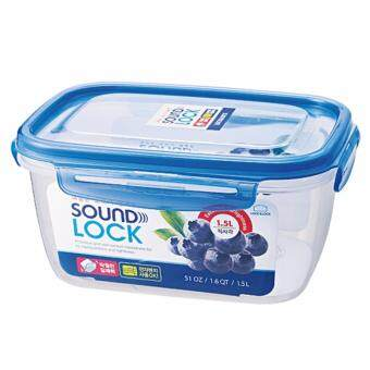 Harga Lock & Lock LEP552 Soundlock Rectangular Container 1.5L