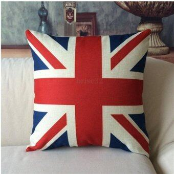 Harga Kuhong British Flag Pillowcase Throw Pillow