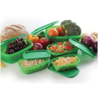 Harga ASOTV Always Stay Fresh Green Container 10 Pcs Set