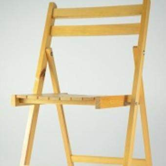 Harga Little Homes Wooden Folding Chair