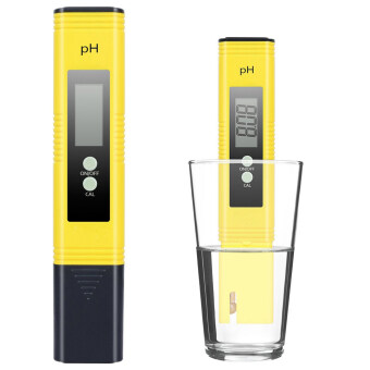 Harga PH Meter Tester Water Pool - Exqline 0.05 Accuracy ATC Function Auto Calibration for Aquariums Swimming pools Laboratory Tap water Beverage Model: PH-02