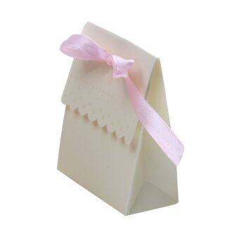 Harga 50 Wedding Favour Favor Sweet Cake Gift Candy Boxes Bags Anniversary Party