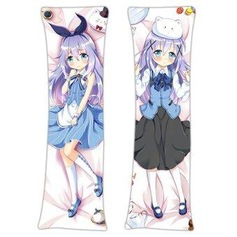 Harga Kigu Kawaii New Chino Kafu - Is the Order a Rabbit Japanese Anime Dakimakura Hugging Body Pillow Case ADP68078