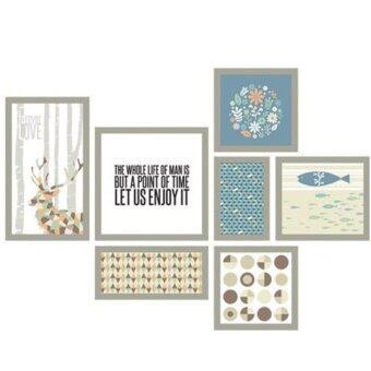 Harga Wall Deco Sticker & Design Sheet Scandiavia Frame For Interior & Deco