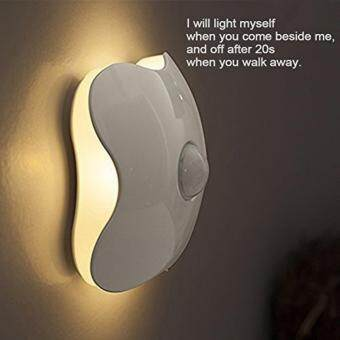 Harga Motion Sensor Night Light, Rechargeable Wireless LED Stick Anywhere Night Light for Kids Baby Room,Wall Path,Laundry Room,Bathrooms- Perfect Decoration Gift (Warm Light)