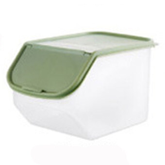 Harga NaVa Multipurpose Large Dry Food Stackable Storage Dispenser Tray (Set of 2 - Light Green)