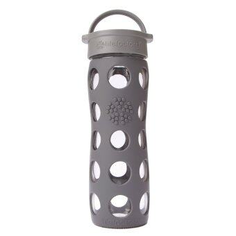 Harga Lifefactory Glass Bottle - 16oz (475ml) - Classic Cap - (Carbon)