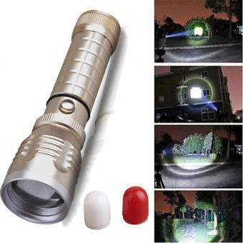 Harga 2000 Lumen Zoomable CREE XML T6 LED 18650 Flashlight Focus Torch Zoom Lamp Light