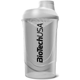 Harga BiotechUSA Wave Shaker 600 ml shaker bottle (White)