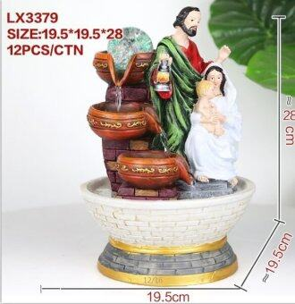 Harga CHRISTIAN WATER FOUNTAIN LX3379 TABLE TOP WATER FEATURES DECORATION