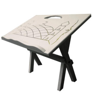 Harga Table Rehal Fold Sit Al Quran ( White )