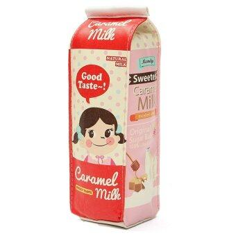 Harga New PU Pen Bag Cartons Pencil Case Simulation Of Milk Kawaii Stationery Pouch