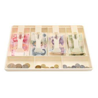 Harga New Cash Coin Register Insert Tray Replacement Money Drawer Storage