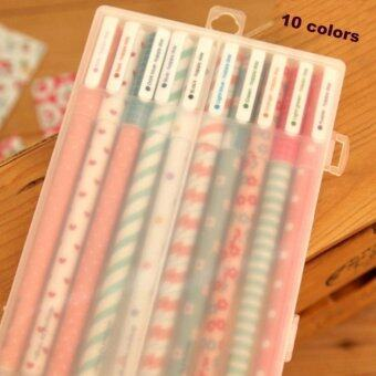Harga 5PCS/Lot Colorful Kawaii Cute Korean Stationery Pens For Writting