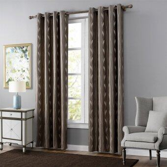 "Harga 1 Set (2 Panels)Blackout Curtains Eyelet Grommet Curtains Energy-Saving Curtain Pair 52""*95"""