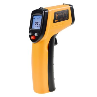 Harga 360DSC BENETECH GM320 LCD Gun Style Infrared Thermometer With Laser Pointer(-58℉~716℉)