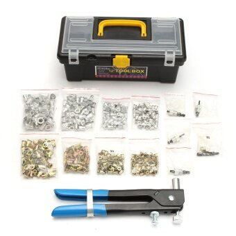 Harga 464 Pieces M3 M4 M5 M6 M8 Blind Rivet Nut Rivnut Nutsert Insert Tool Box Set Kit
