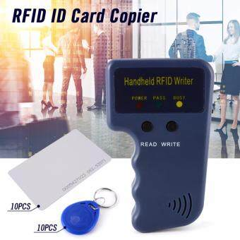 Harga Handheld RFID ID Card Copier Reader Writer with 5 Writable Tags 5 Cards