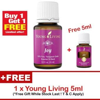 Harga *SUPER BUY* Young Living Joy Essential Oil 15ml (*Free 5ml)