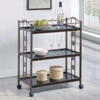 Harga TR1197 3 TIER KITCHEN CART / DINING TROLLEY