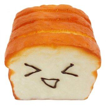 Harga Amango Kawaii Jumbo Toast Squishy Expression Card Cellphone Holder Hand Pillow