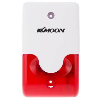 Harga KKmoon Wired Fire Sound & Flash Alert Siren Alarm Horn Security System for Office Hotel Restaurant Factory