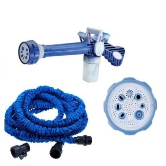 Harga Ez Jet Water Cannon + 50 Ft expendable X hose for Garden Car Wash with Soap Dispenser