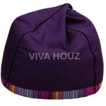 Harga VIVA HOUZ - PYRAMID Bean Bag (XL Size) FANCY PURPLE