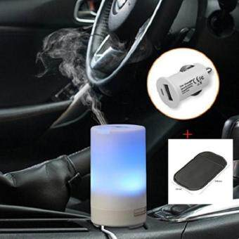 Harga Gogerstar 50ml USB Essential Oil Diffuser,Computer Portable Mini Ultrasonic Cool Mist Aroma Humidifier with Color LED Lights Changing and Timer Settings - Yoga Gym Car Home Office Bedroom